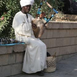 Egypt-Kora-Musician